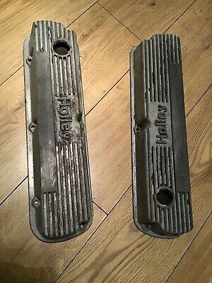 Small Block Ford Classic Holley Valve Covers Hot Rod Kit Car Mustang