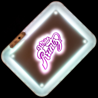 Limited Edition Glow Tray x White Runtz Led Rolling Tray