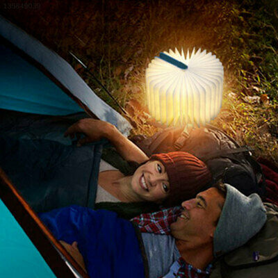 8E18 Creative Wooden Foldable LED Book Lamp Wireless Rechargeable Night Light