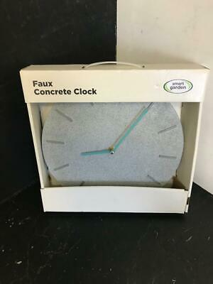 Faux Concrete Wall Clock Fully Working With Box