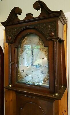 18thC 8 day LONGCASE CLOCK Brass Face in very good working order Ferguson Cupar