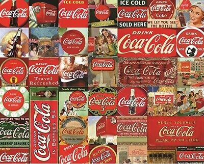 "Springbok 1000 piece COCA COLA  puzzle ""It's the Real Thing"" - RETIRED!"