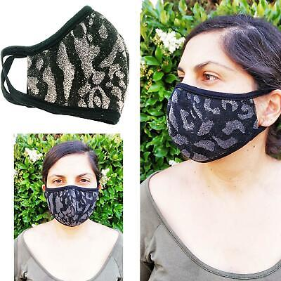 SAME DAY SHIPPING Double Layered,Made in USA ,Washable, Sparkle Face Mask