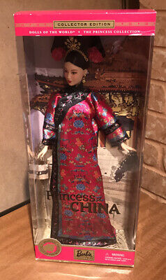 Barbie Princess Of China Dolls Of The World Collectors Edition Mattel 2001
