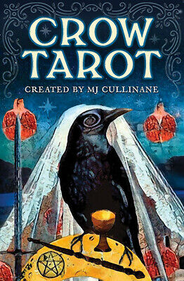 Crow Tarot 78 Cards Deck + 88 Page Guidebook - NEW!
