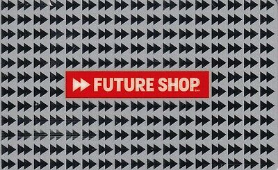 Future Shop Gift Card • Used Card with No Cash Value • Canada