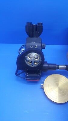 Mitutoyo Microscope Head WF with ThermoChuck Used good