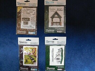 Build A Scene Collection Sheena Douglass A5 Clear Acrylic Stamps