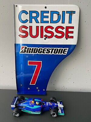 ORIGINAL F1 PART Sauber C21 Massa Heidfeld Frentzen plus 1:18 modelcar