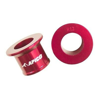 APICO REAR RED WHEEL SPACER HONDA CRF250 CRF450 2007