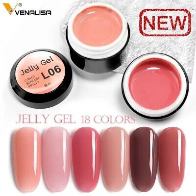 Venalisa Opal UV Gel 5ml Camouflage Natural Color Jelly Acrylic French Nails