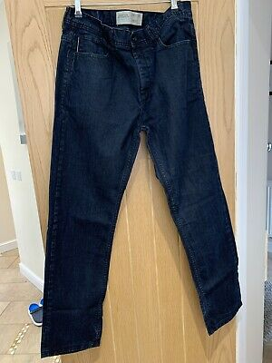 Mens Jeans CrossHatch Taupe Twisted Fit Twill Jeans Style Riccord