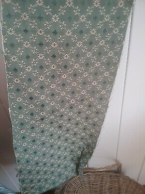Novelty sleeping Teddy bear cotton flannelette remnant craft material 150x48cm