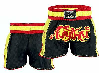 ISLERO Muay Thai Fight Shorts MMA Kick Boxing Grappling Martial Arts Gear UFC