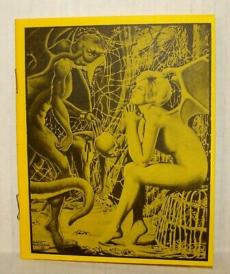 Orig 1971 - With Pen And Brush #1 Fanzine - Marchesano - W/ Copy Of Note & Env