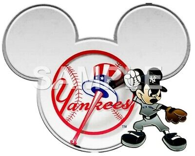 Disney New York Yankees iron on transfer (choice of 1)