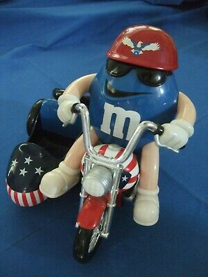 M & M Motorcycle Candy Dispenser