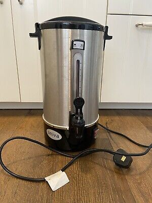 Univa Catering Urn Water Level Indicator Locking Lid Boil Dry 8 Litre UNWB8L