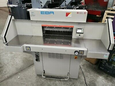 EBA 551-06 LT Guillotine - Single Phase - year 2006 - Excellent Condition