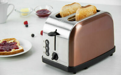 STYLISH Copper Colour 2 Slice Toaster -GOODMANS *****NEW