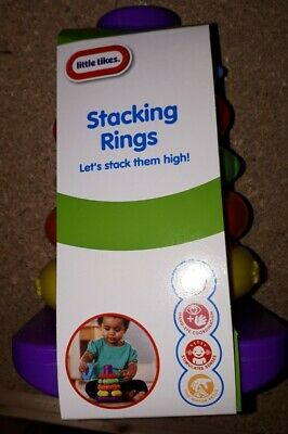 Little Tikes Stacking Rings Stack Nesting Sorting Baby Toy NEW