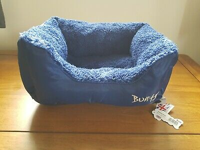 Bunty Deluxe Soft Washable Dog Cat Warm Bed Cushion with Fleece Lining size S
