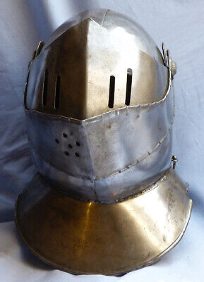 Vintage Suit Of Armour Helmet