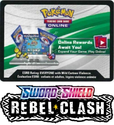 Pokemon SWSH Rebel Clash Zamazenta Theme Deck Code Online Messaged