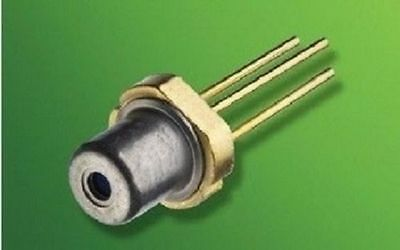 Osram PL520 520nm 50mW Green Laser Diode Single mode/3.8mm/Brand New