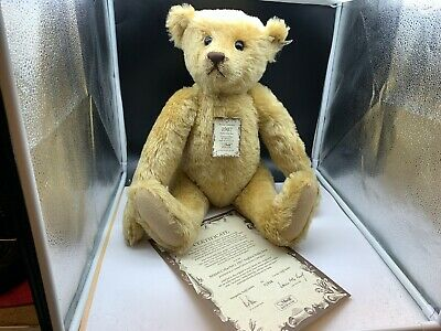 Steiff Tier 0174/61 British Collectors Teddy Bär 61 cm. Top Zustand
