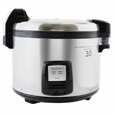 Thunder Group Cuckoo SEJ3201 Electric Commercial Rice Cooker/Warmer 30 Cup - NSF