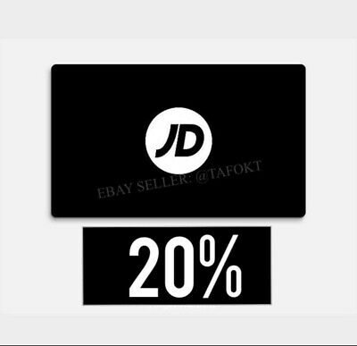 Jd Sports 20% Off Discount Code Limited Offer!! Fast Delivery 📦