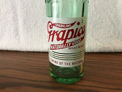 Grapico Bottle, 8oz. Embossed & ACL