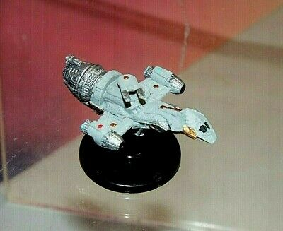 """FIREFLY SERENITY FIREFLY-class ARMED TRANSPORT 2"""" MINIATURE #3 (RESIN, PAINTED)"""