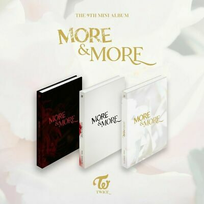 TWICE [ MORE & MORE ] 9th Mini Album CD Photocard P.Benefit Poster Tracking New
