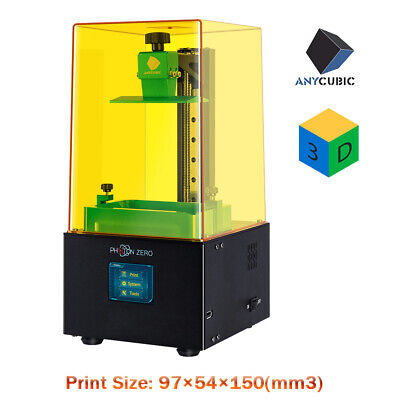 2020 New ANYCUBIC Photon Zero UV Resin LCD Light-Curing Touch Screen 3D Printer