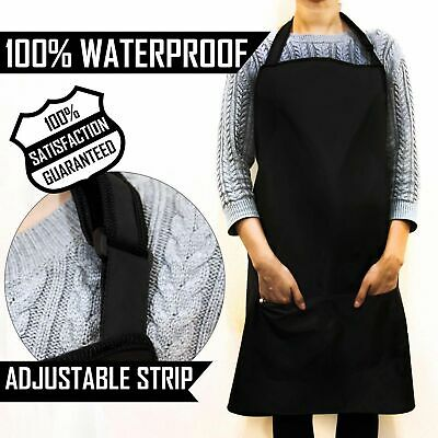 Waterproof Apron With Pockets HAIRDRESSING SALON APRONS Custom Adjustable Unisex