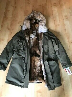 PARKA YVES SALOMON Homme ARMY size 44 NEVER WORN WITH TAGS