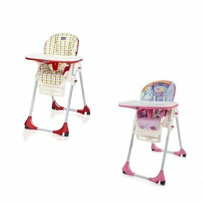 Chicco Polly Easy 4 Wheels Highchair