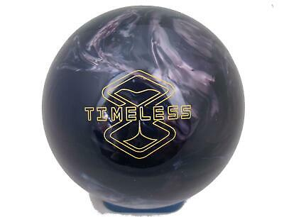 15lb Storm Timeless Tenpin Bowling Ball - plugged & refinished, undrilled