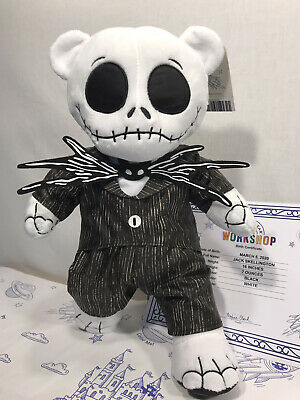 NWT Build-A-Bear Nightmare Before Christmas Jack Skellington /Sound
