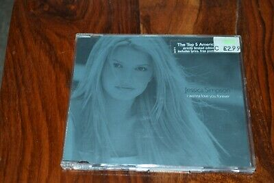 Jessica Simpson    I Wanna Love You Forever       Cd Single