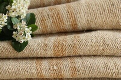 TW 557 antique linen roll natural oatmeal caramel stripes washed