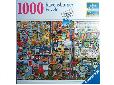 Ravensburger The Inventor's Cupboard 1000 Piece Puzzle