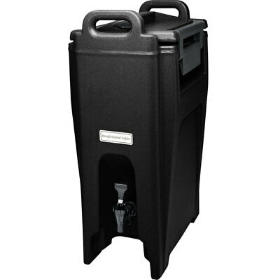 Ultra Camtainers 5.25 Gallon Black Insulated Beverage Dispenser