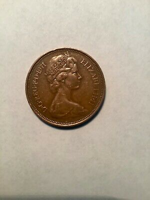 1971 2 New Pence Coin ( Extremely rare ) nice coin.