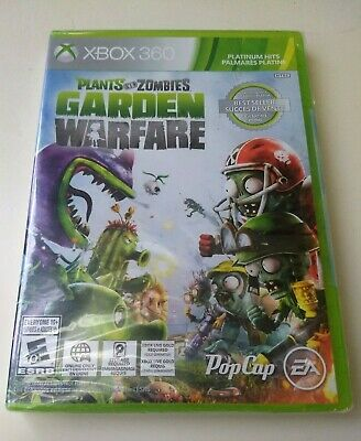 Plants Vs Zombies Garden Warfare (Microsoft Xbox 360 2014) NEW + Factory Sealed!