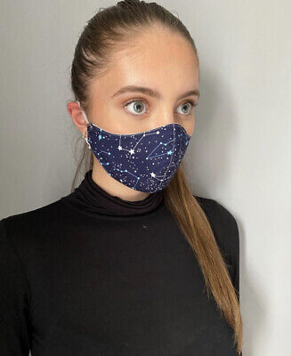 UK Face Mask Breathable Washable Protective Covering Nose Mouth Protection Adult