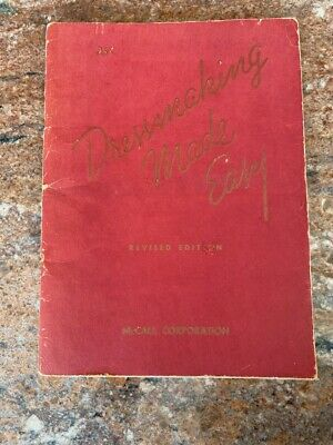 Vintage 1946 McCall's Dressmaking Made Easy Sewing Book  25 cents