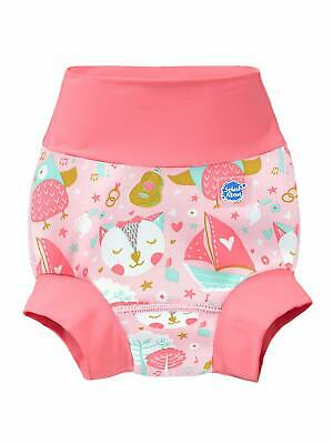 Splash About Baby Kid's New Improved Happy Nappy,Multicoloured(Owl & The